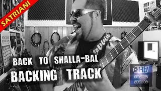 Back To Shalla Bal (Joe Satriani) STUDIO BACKING TRACK