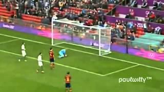 Morocco vs Spain in london 2012 best moment