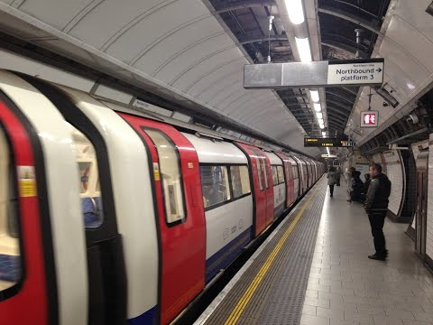 Riding the London Underground - The Tube