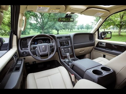Beautiful 2015 Lincoln Navigator Interior Look Amazing Design
