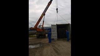 видео аренда автокрана в Петербурге
