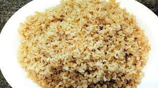 How To Cook Brown Rice Perfectly | Brown Rice Recipe Indian | How To Cook Brown Rice On The Stove