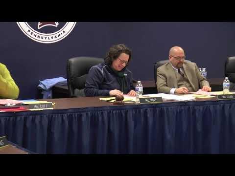 William Penn School District Board Business Meeting - January 29, 2019