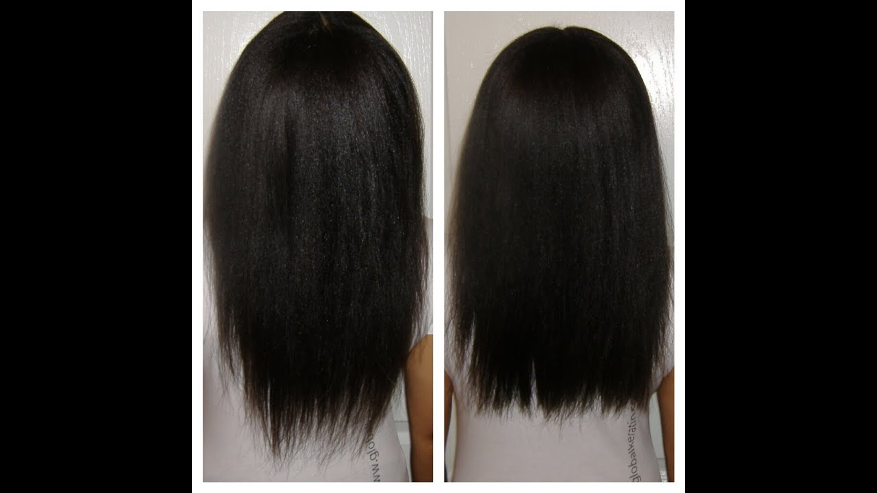 Trim Natural Hair Split Ends