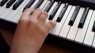 Binbir Gece Song - How to Play - Piano