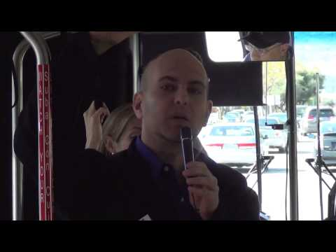 Stevens Creek Bus Rapid Transit (BRT) Tour - Silicon Valley Transportation Summit 2013