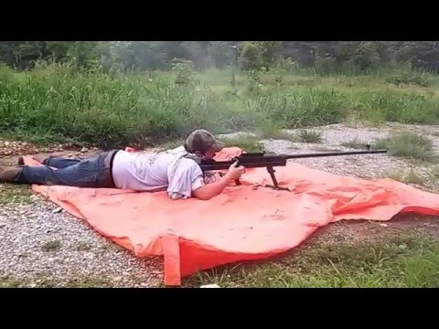 shooting a 55 cal. coverted to a 50 cal.