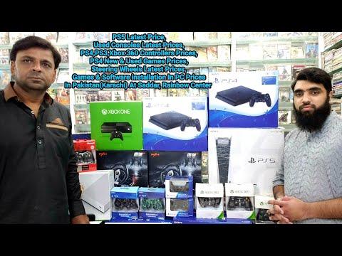 PC Game Installation Price,Used Consoles Latest Prices In Pakistan(Karachi) At Saddar,Rainbow Center thumbnail