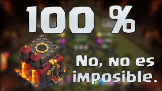 100% a TH10 (Sin magia negra / Sin MOD) | Clash of Clans en ESPAÑOL → [ Newton Games ]