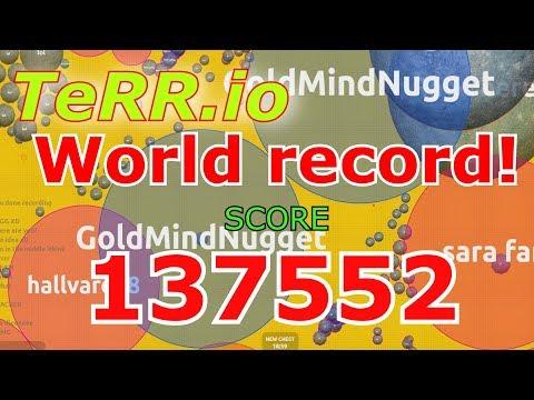 NEW IO GAME | Terr.io Gameplay | 137,552 POINTS  | WORLD RECORD!