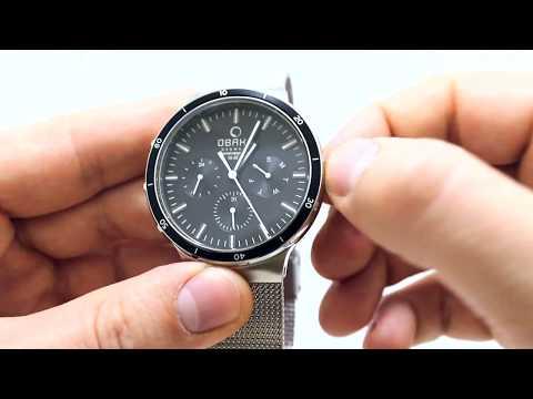 Часы Obaku V220GMCBMC - видео обзор от PresidentWatches.Ru