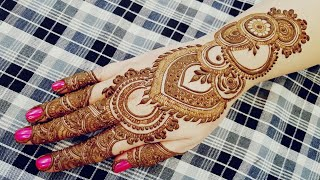 Arabic Henna Designs 2017
