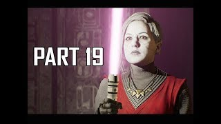 STAR WARS JEDI FALLEN ORDER Walkthrough Part 19 - Boss Jedi Master