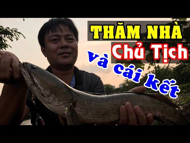 Đang bế con chủ tịch gọi điện khẩn bắt vào Gia Trang riêng để test hồ | CÂU CÁ BẰNG MỒI GIẢ quá dễ