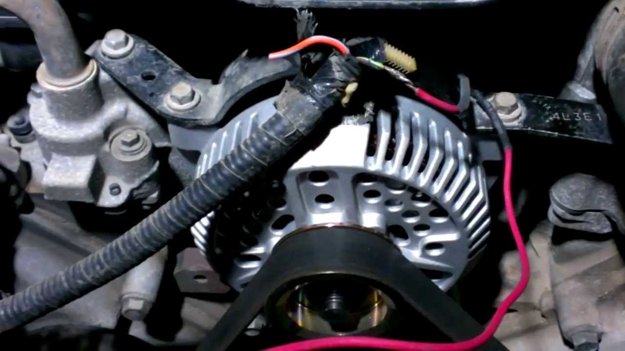 alternator fuse link repaired my way youtube 1997 f250 alternator wiring ford f150 alternator wiring harness #25