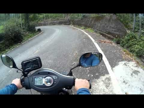 Riding in the mountains of Tainan and Kaohsiung, Taiwan