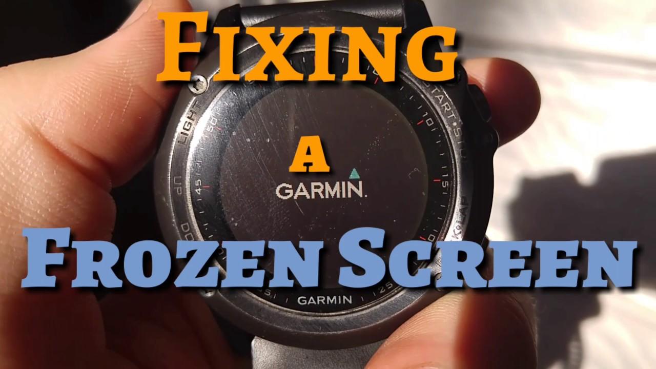 Garmin Fenix 3 Troubleshooting