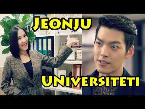 Vorislar serialidagi Cheyongdu (Kim Woo-Bin) o'qigan universitetga sayohat// DILDORA HOSHIMOVA
