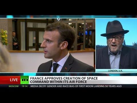 Unpopular Macron wants to 'conquer space' – Galloway