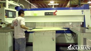 (custom Cabinets) Panel Mill And Laminator-cabinetry By Karman