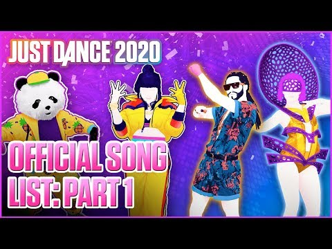 Just Dance 2020: Official Song List - Part 1 [US]