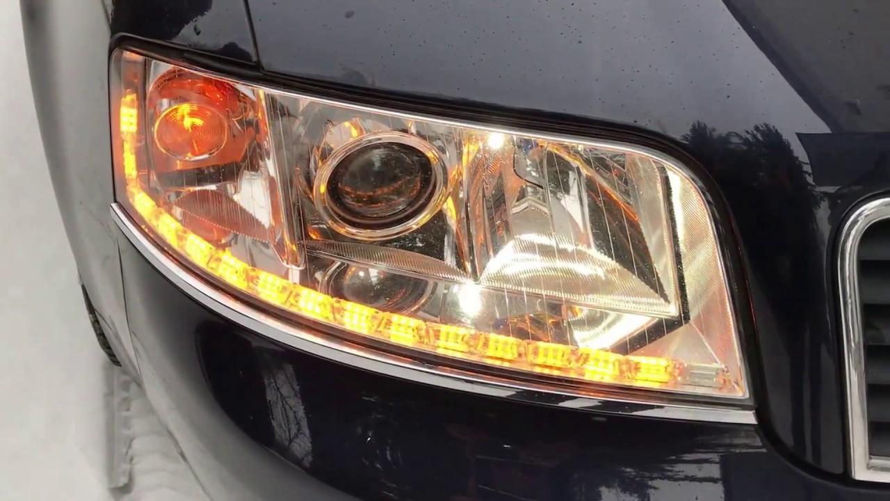 Audi A6 C5 światła Dzienne Led Pasek Modułowy Z Kierunkowskazem Alltech24 Pl Youtube