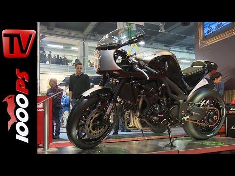 Triumph Speed Triple Umbauten von Ernes @SWISS MOTO 2016