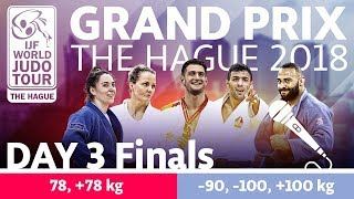Judo Grand-Prix The Hague 2018: Day 3 - Final Block