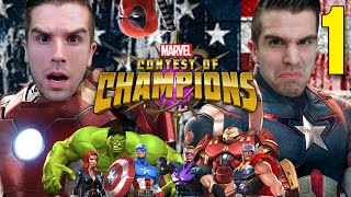 CIVIL WAR!! CHOOSE YOUR SIDE!! | Marvel Contest of Champions Gameplay #1