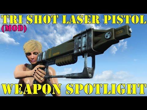 Fallout 4: Weapon Spotlights: Tri-Shot Laser Pistol