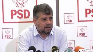 Conferinţă de presă susţinută de Marcel Ciolacu după reuniunea CExN al PSD, la Neptun - 25.08.2017