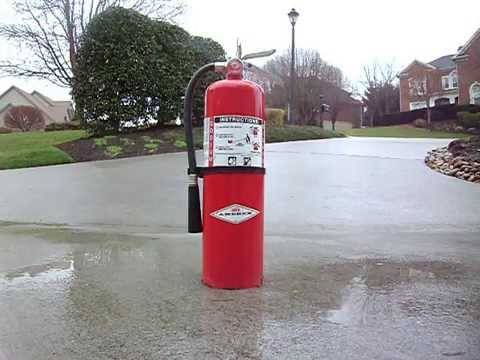 2003 Amerex Dry Chemical Fire Extinguisher (BC type)