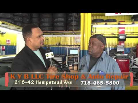 KYB LLC - PART # 3 Tire Shop & Auto Repair a Haitian business owned in New York