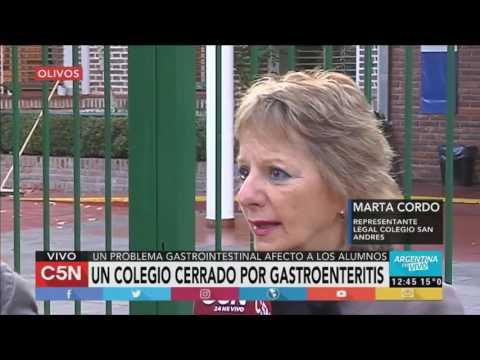 C5N - Sociedad: cierran un colegio en Olivos por gastroenteritis