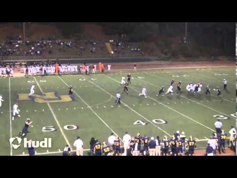 QB Justus Spillner, Nevada Union High School, (Junior Year/2014) Week 2 vs Pleasant Grove HS
