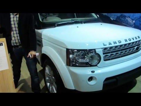 Land Rover DIscovery 4 at Delhi Auto 2012