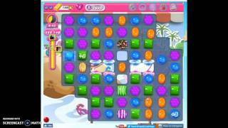 Candy Crush Level 1632 score challenge (no audio)