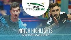 Zokhid Kenjaev vs Lars Posch | 2020 ITTF Portugal Open Highlights (FS)