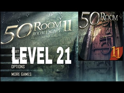 50 Room Escape 11 Level 21 Walkthrough Youtube
