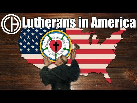 Lutherans In America   Casual Historian