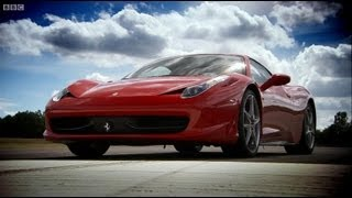 Ferrari 458 vs Ferrari 430 - Top Gear - BBC