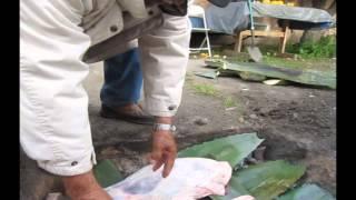 Making Barbacoa My Grandpa