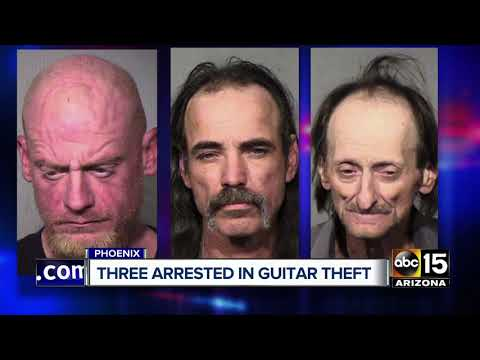 SHROOM - LAMB OF GOD: 3 Men Arrested For Allegedly Stealing Guitars