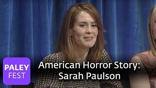American Horror Story - Lily Rabe On Musical Breaks and Sarah Paulson on Lana Winters