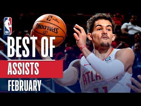 NBA's Best Assists | February 2018-19 NBA Season thumbnail