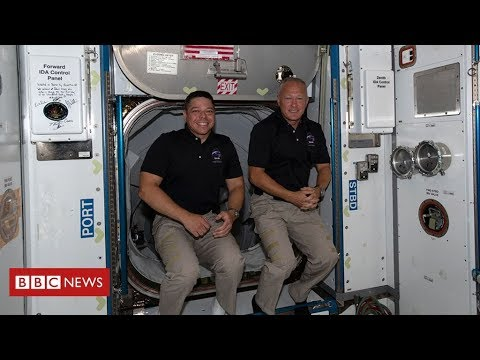 Nasa astronauts set for ocean splashdown