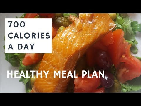 HEALTHY MEAL PLAN || 700 CALORIES A DAY