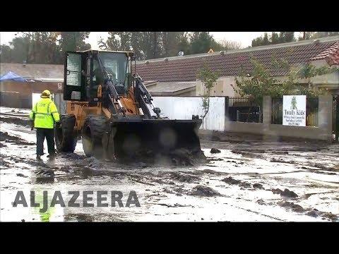 California mudslides: At least 13 killed, thousands evacuated 🇺🇸
