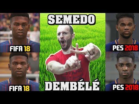 ¡¡¡UN CIEGO HARÍA MEJOR LAS CARAS EN FIFA 18 Part 2!!! - Sasel - Pes 2018 - Faces - Español