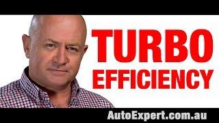 How do turbochargers increase engine efficiency? Auto Expert John Cadogan